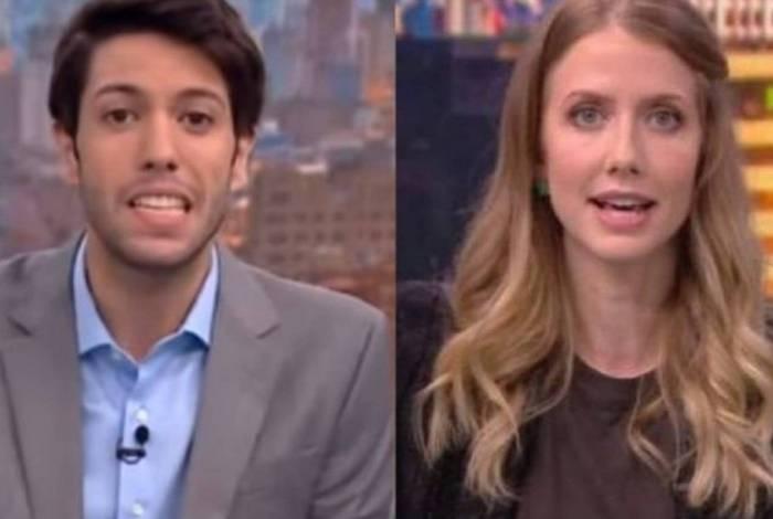 Caio Coppolla e Gabriela Prioli