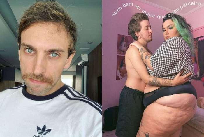Humorista Leo Lins faz piada gordofóbica com foto da modelo Bia Gremion