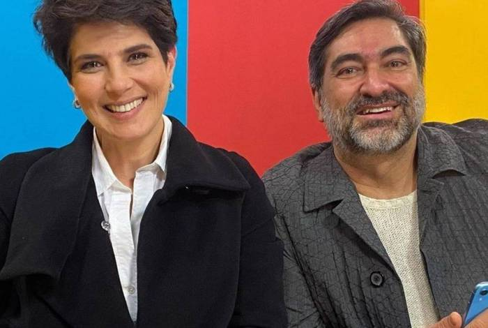Zeca Camargo e Mariana Godoy