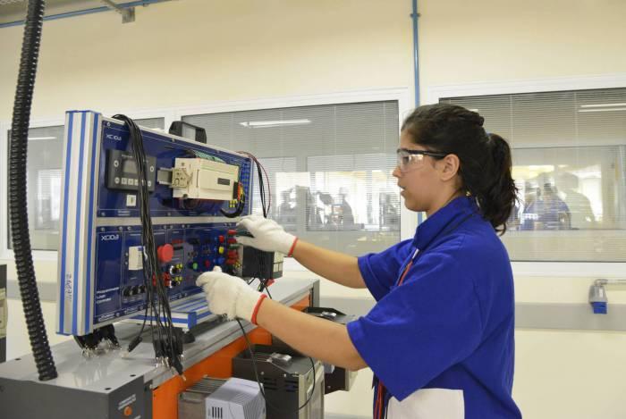 Os cursos de Automação Industrial e Mecânica são os que têm o maior número geral de vagas: 200 e 219, respectivamente.
