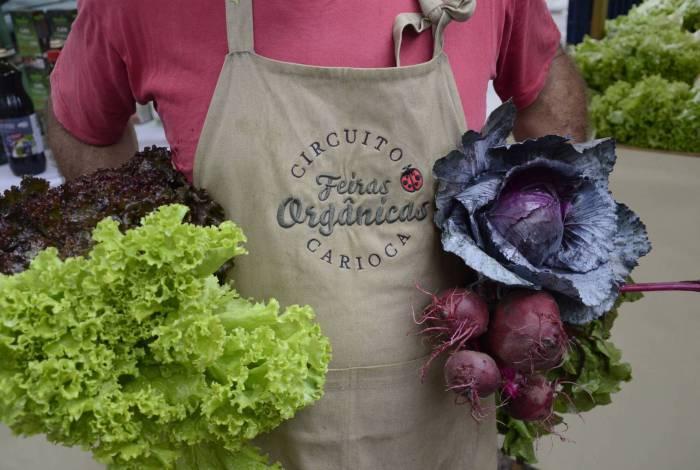 Feiras orgânicas oferecem produtos sem agrotóxico