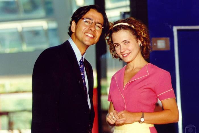 Marcos Palmeira e Adriana Esteves na trama da Globo