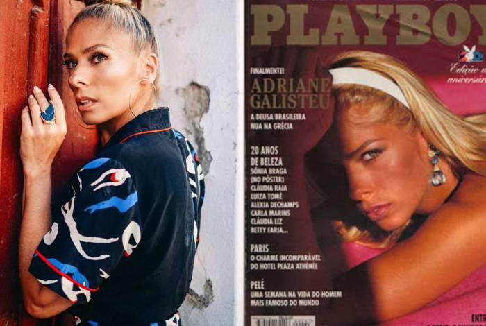 Adriane Galisteu relembre episódio inusitado de quando fotografava para a Playboy