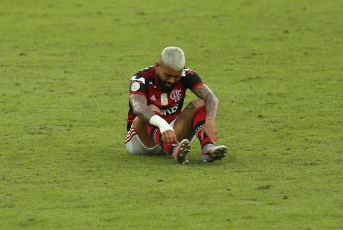 Rio de Janeiro - RJ - 09/08/2020 - Campeonato Brasileiro jogo valido pela primeira rodada entre Flamengo x Atletico MG, foto de Gilvan de Souza / Agencia O Dia
