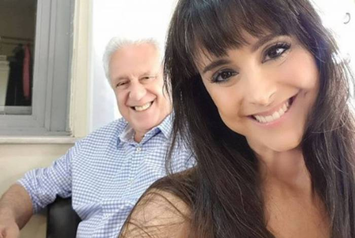 Antônio Fagundes e Alexandra Martins