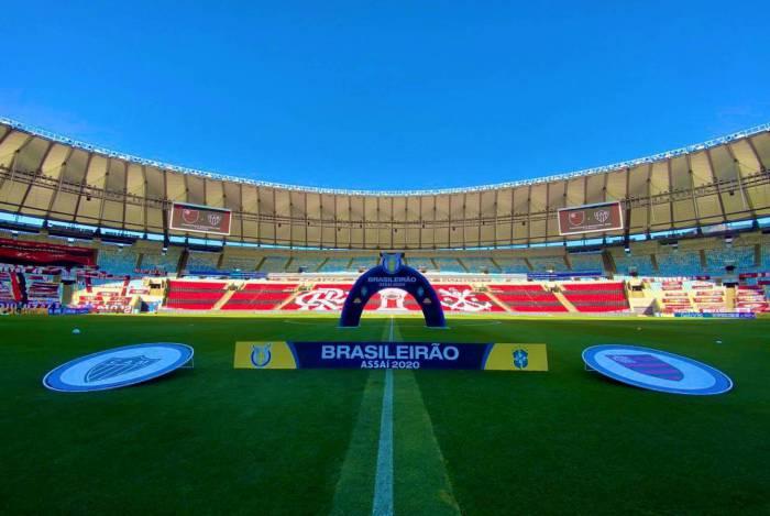Após críticas, Greanleaf se posiciona a respeito da grama do Maracanã na partida entre Flamengo e Atlético-MG, válido pela estreia do Campeonato Brasileiro 2020