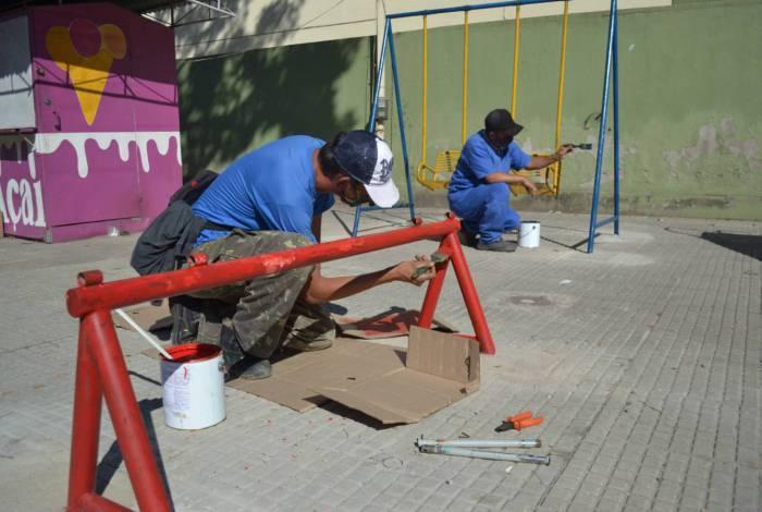 Semana começa com manutenção de 20 bairros em Volta Redonda