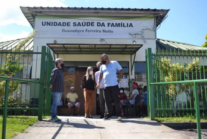 Unidade de saúde do bairro Santa Cruz passa por reforma geral em Volta Redonda