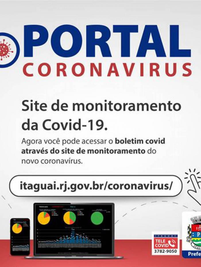 A postagem que indica a mudança: prefeitura informa que dados sobre a doença estão no painel municipal