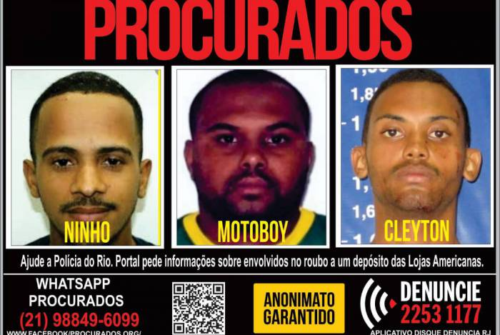 Disque Denúncia pede informações sobre assaltantes que agem na Baixada