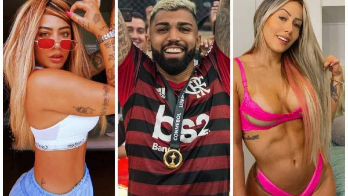 Rafaella Santos, Gabigol e a DJ Allana