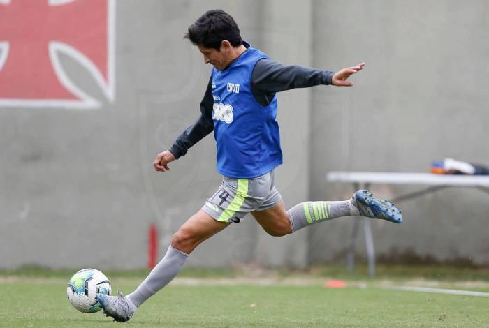 Homem-gol: artilheiro do Vasco na temporada, o argentino Germán Cano balançou a rede nove vezes