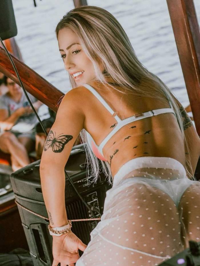 DJ Allana seria pivô da separação de Rafaella Santos e Gabigol