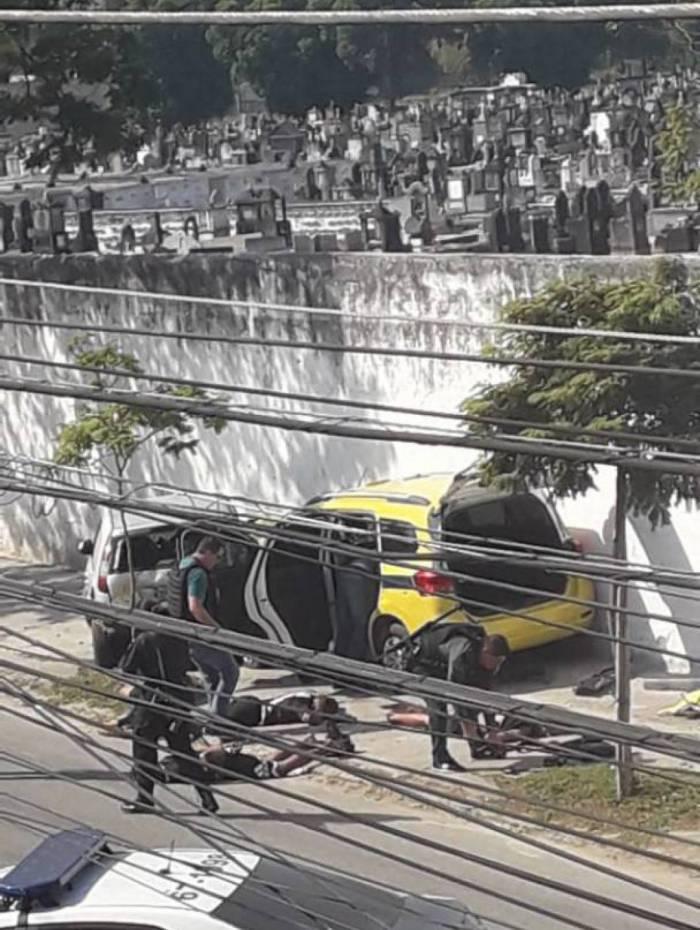 Operação da PM e Civil frustra arrastão em Inhaúma