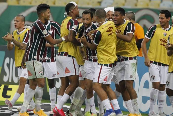 Fluminense venceu fora de casa