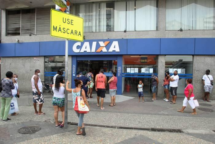Caixa vai creditar o saque emergencial do FGTS na segunda e parcelas do auxílio emergencial