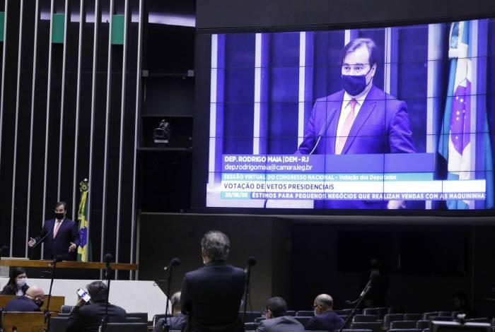 Sessão de análise de vetos presidenciais foi semipresencial; governo teve vitória expressiva