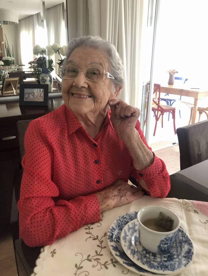 A cozinheira Palmirinha Onofre