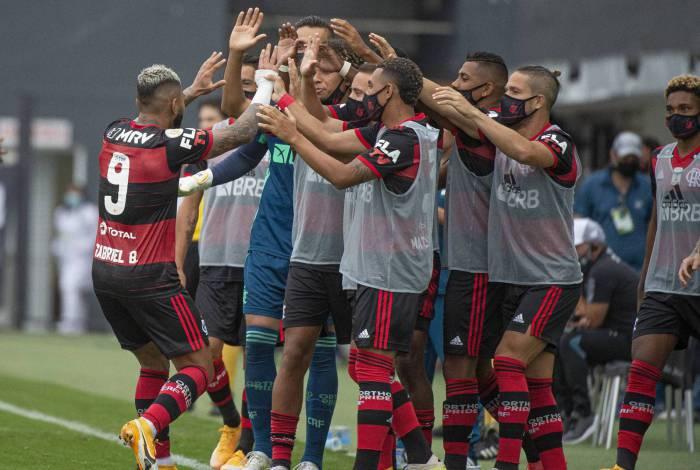 O Flamengo de Gabigol vem mostrando um nítido crescimento no Campeonato Brasileiro
