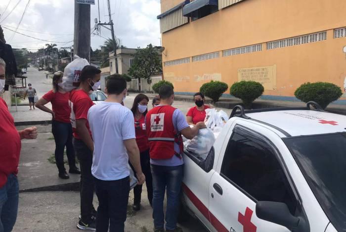 Cruz Vermelha de São Gonçalo continua arrecadação de alimentos