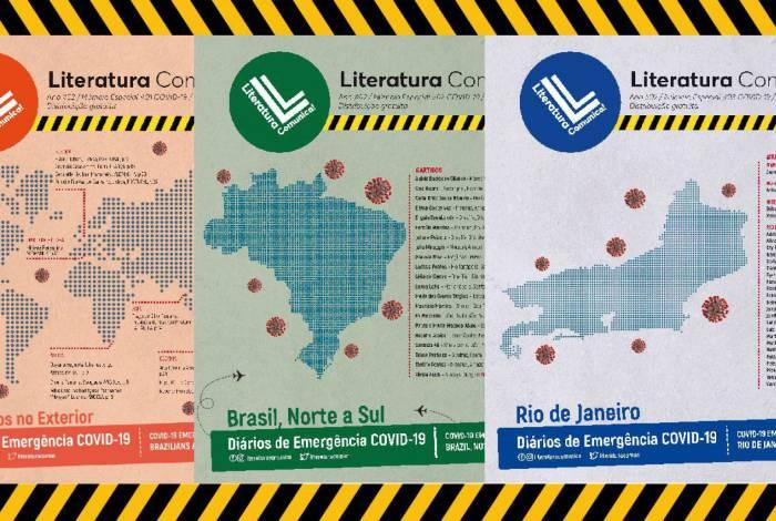 Diários de uma Emergência edições