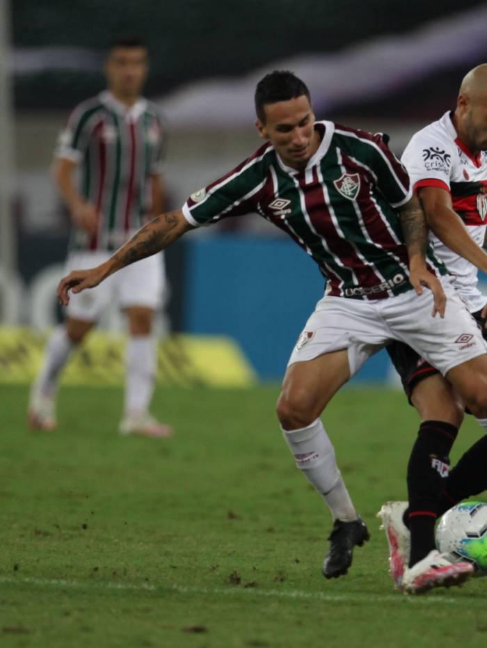 Jogo entre Fluminense e Atlético-GO pelo Brasileiro terminou empatado em 1 a 1