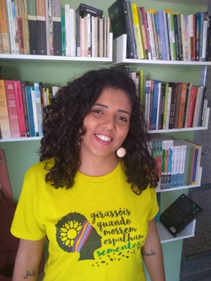 Juliana Carvalho é a pré-candidata do PSOL em Volta Redonda