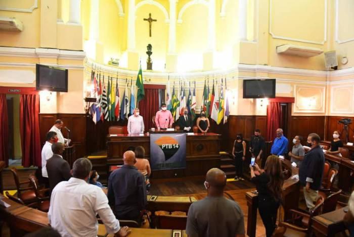Convenção do PTB Niterói foi realizada na sexta de manhã no plenário da Câmara Municipal e anulada no sábado pelo presidente nacional do partido