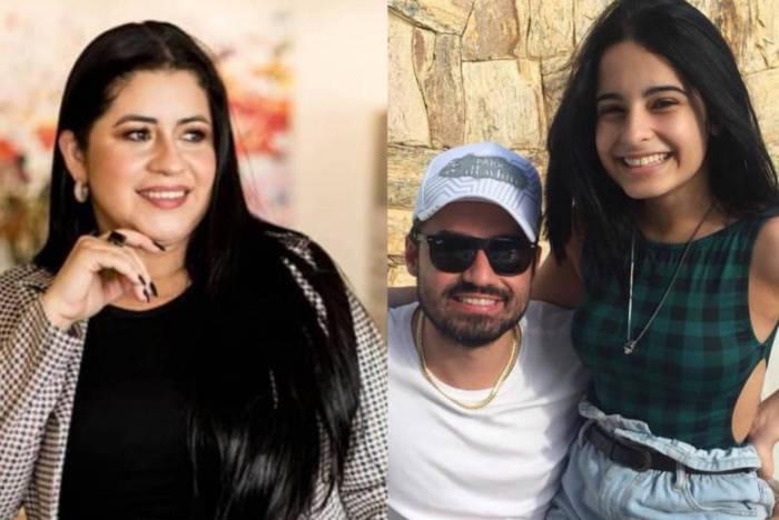 Aline Oliveira, ex de Fernando Zor, expõe ausência do sertanejo como pai de sua primogênita, Kamily Zor