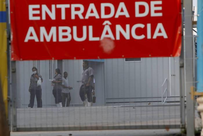 Funcionários no Hospital do Maracanã continuam indo trabalhar, mesmo com salários atrasados