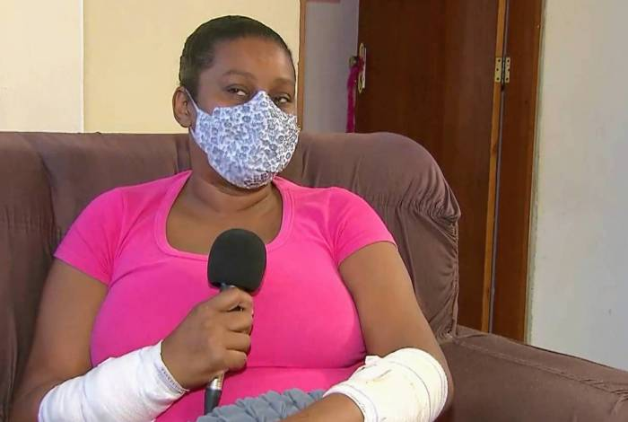 Mulher fala sofre ataque de cão da raça Pitbull em Itaboraí