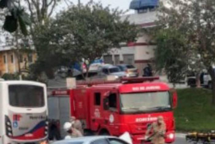 Acidente na Av: 22 de Maio no Centro de Itaboraí