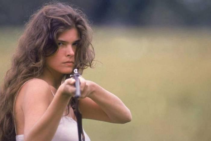 Cristiana Oliveira como Juma Marruá em 'Pantanal'