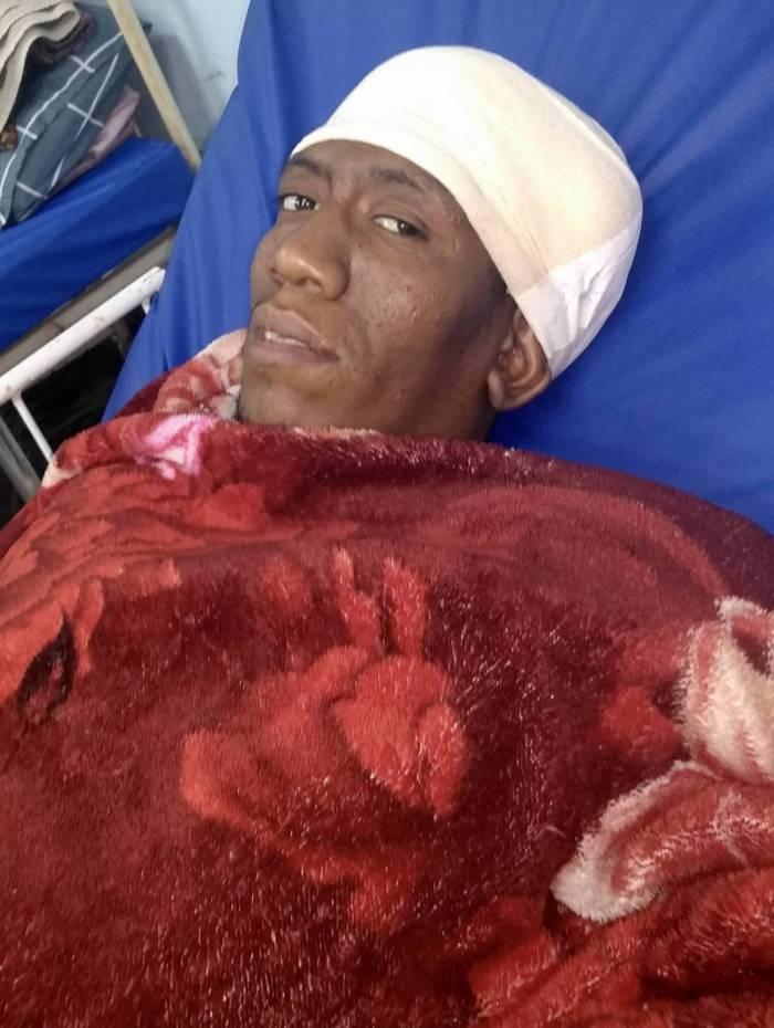 Samuel Avelar aguarda por uma cirurgia para retirada de tumor