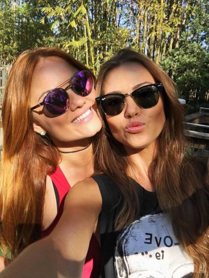 As irmãs Iza e Ellen Rocche