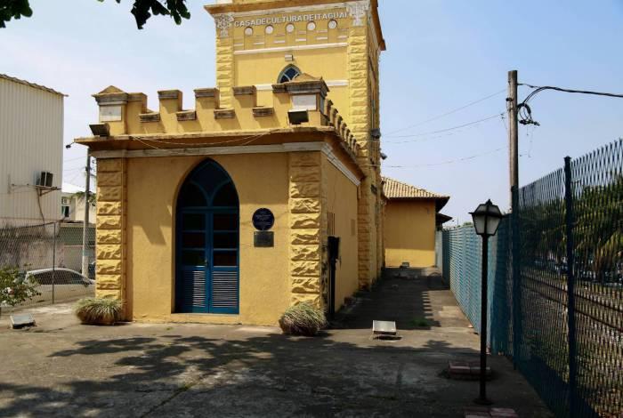 Casa de Cultura, na antiga Estação: artistas se mobilizaram e se cadastraram para ter direito ao benefício da Lei