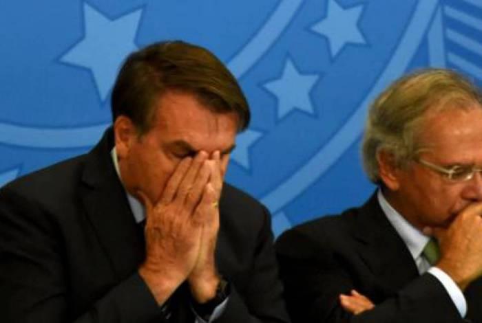 Bolsonaro e Guedes: noivado/casamento estaria em crise? Presidente desautoriza ministro
