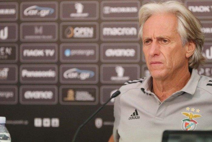 Jorge Jesus: queda no maior objetivo do treinador à frente do Benfica