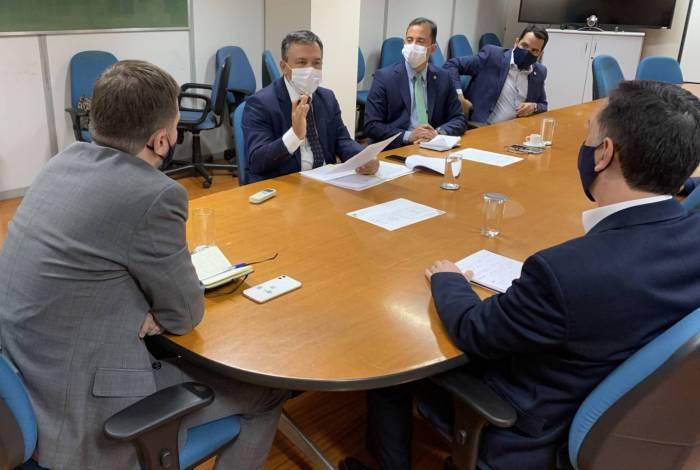 Representantes do Fonacate se reuniram com integrantes do Ministério da Economia nesta segunda-feira