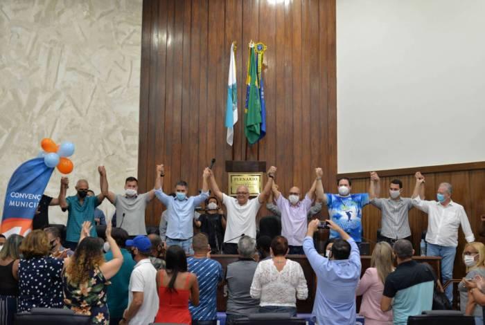 Titinho, do Podemos, é oficialmente candidato a prefeito de São João de Meriti