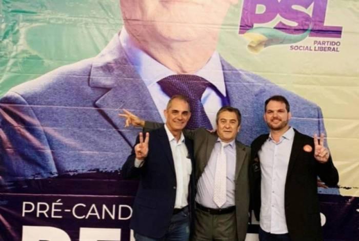 José Paulo Pires, Deuler da Rocha e Alexandre Ceotto