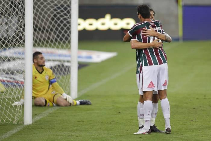 Copa do Brasil: Jogo Fluminense x Atlético/GO, no Maracanã