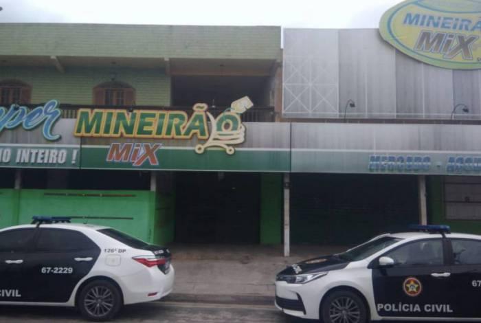 Gerente do mercado 'Mineirão' é preso em Cabo Frio acusado de estelionato e formação de quadrilha