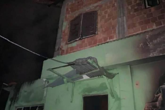 Homem colocou fogo na própria casa no bairro Cônego