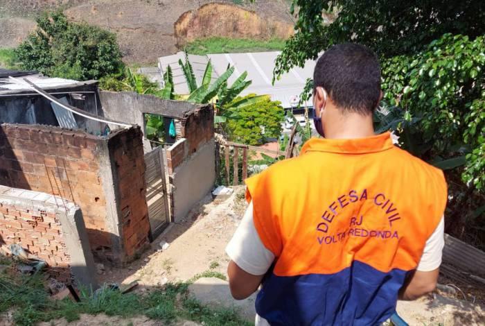 Defesa Civil realiza ação de prevenção em áreas de risco no bairro Eucaliptal