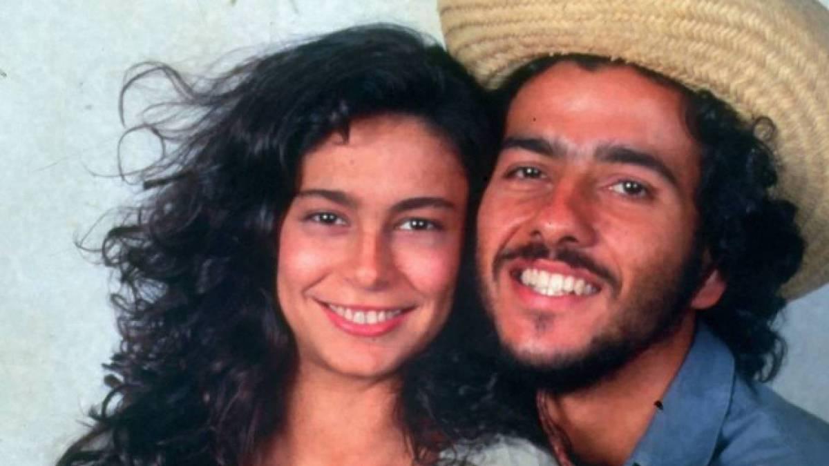 Giovanna Gold e Marcos Palmeira em 'Pantanal'