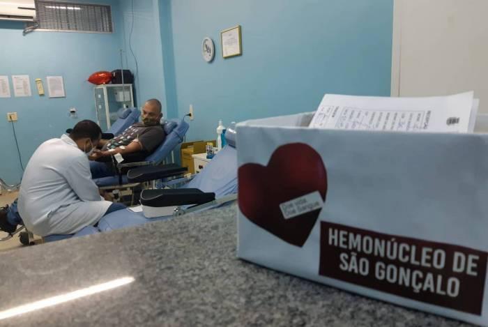 Hemonúcleo de São Gonçalo funciona na Praça Estephânia de Carvalho, no bairro do Zé Garoto, de segunda a sexta-feira, das 7h às 12h