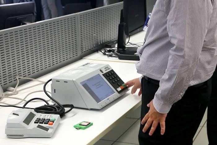 Inseminação das urnas será no dia 1º de novembro