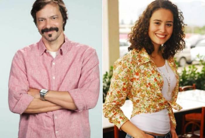 Heitor Martinez e Amanda Richert