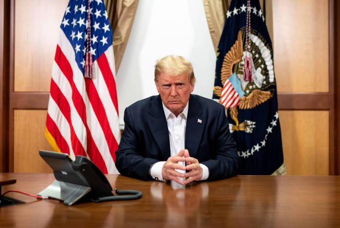 Presidente dos EUA, Donald Trump se recupera da covid-19